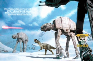 photoshop-dino-auf-hoth-by-jolin-chan